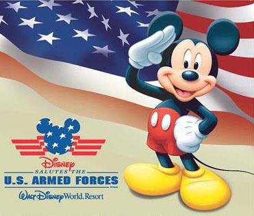 Military salute Disney