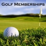 Golf membership icon