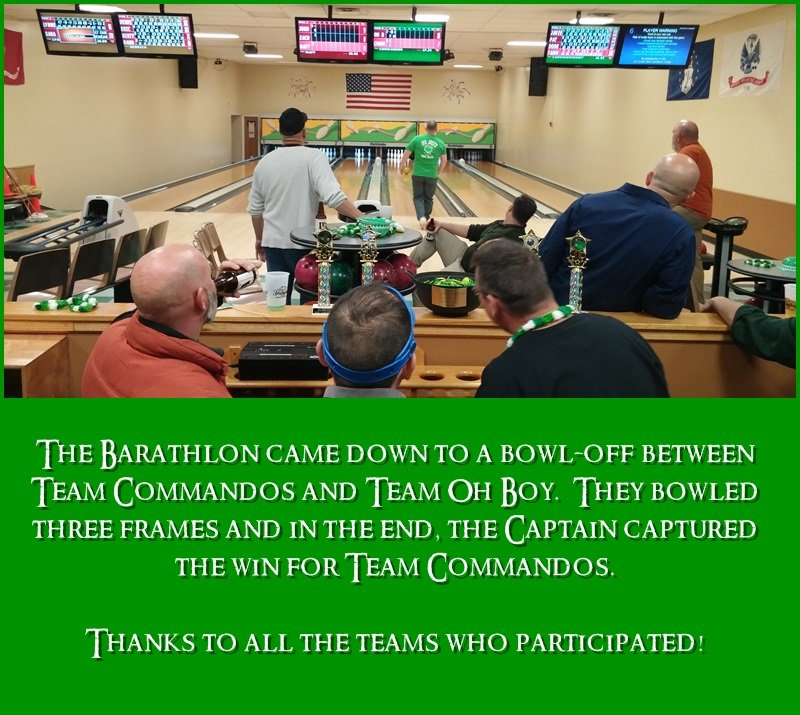 Barathlon bowl off