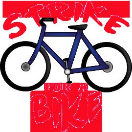 Strike for a Bike in April
