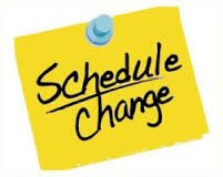 Pool Schedule Change and Closure