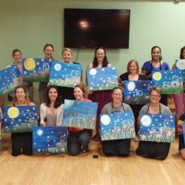 Paint Night Recap – 7/27/16