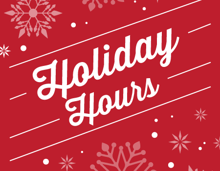 MWR Holiday Hours and Closures