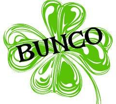 Bunco Night – March 18th