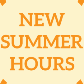 Falcon Deli Summer Hours – Starting May 1st
