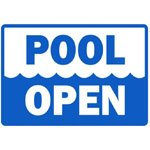 Pool Opening Monday, June 18