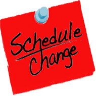 Youth Center Schedule Change 10/24 to 10/27