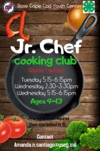 Jr Chef Fall 2017