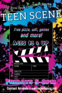 Teen scene flyer 2017