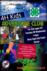 adventure club flyer