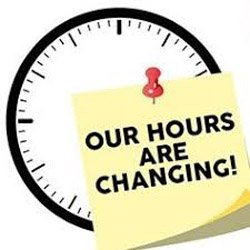 Falcon Deli, Golf Course & Pro Shop Hours as of Nov 12