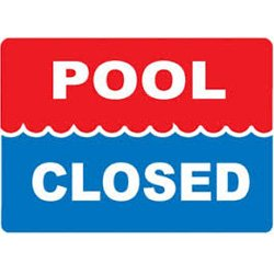 Pool Closed for Periodic Training in August