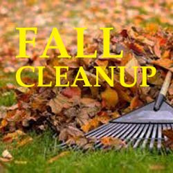 MWR Gear Rentals Can Help Clean Up Your Yard!
