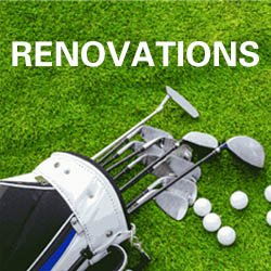 Falcon Driving Range Renovations