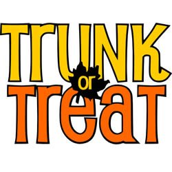 Trunk or Treat Friday, Oct 25