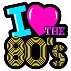 I Love the 80's Trivia Night Nov 15